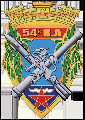 maintenon 54° Régiment d'Artillerie Hyères logo